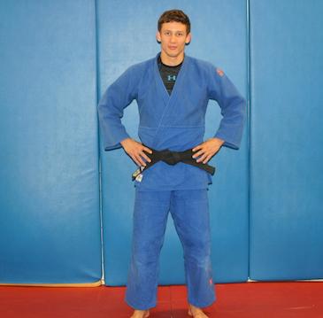 Trener Judo Jakub Kubieniec