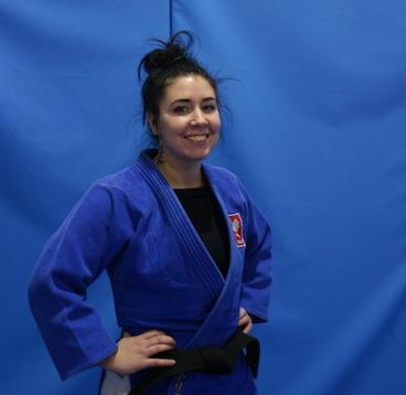 Trenerka Judo Magalena Korfanty