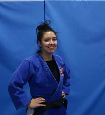 Trenerka Judo Magdalena Korfanty