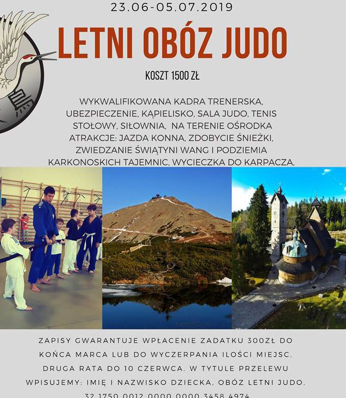 Letni obóz judo